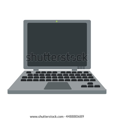 laptop with details icon
