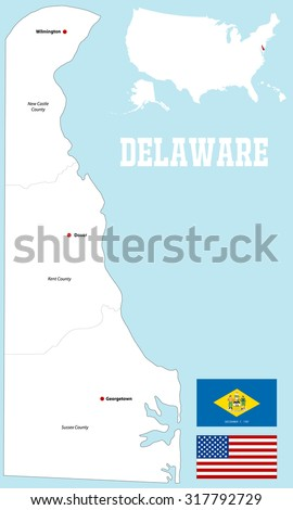 Delaware Map Stock Images RoyaltyFree Images Vectors - Map of delaware