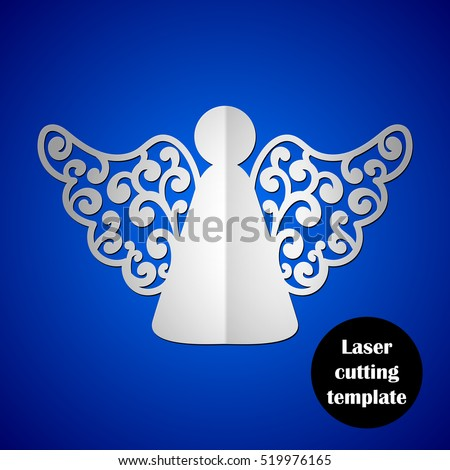 Realiora 39 s portfolio on shutterstock for Angel decoration template