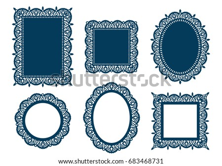 Oval Picture Frame Template Vintage Oval Picture Frame Template