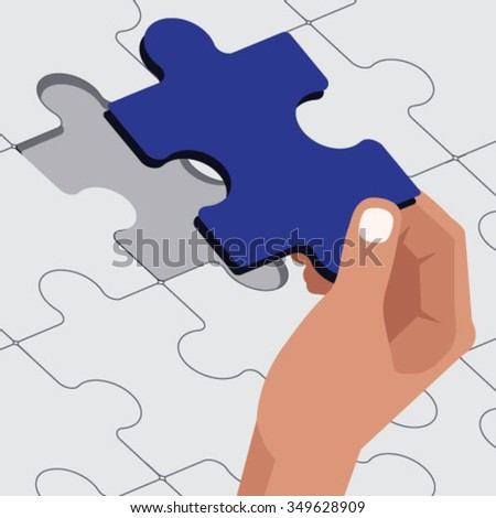 Last jigsaw puzzle piece placed