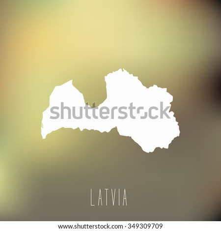 Latvia - stock vector