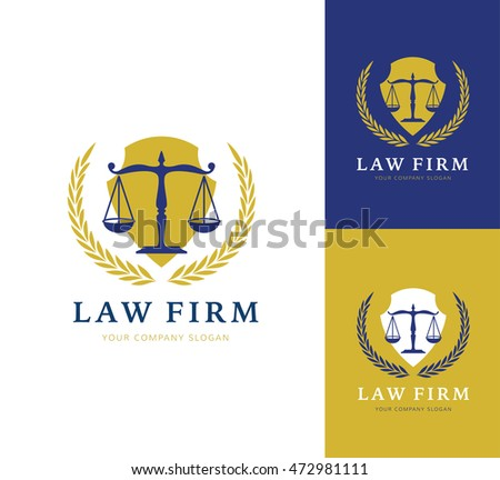 Law Firm logo,Law Office, Lawyer services, Lawyer business brand identity