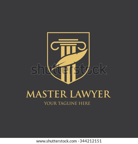 vectortwins s quot law logo quot set on shutterstock