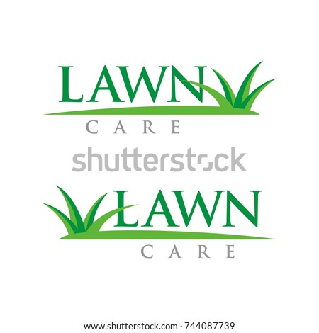 Lawn stock images royalty free images vectors for Garden maintenance logo
