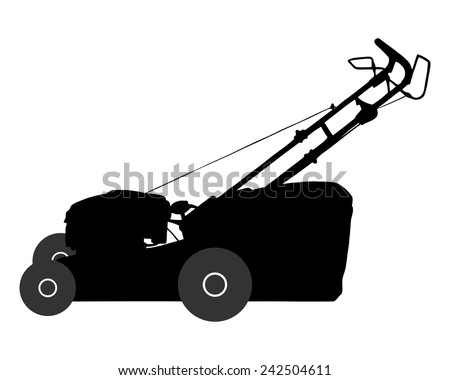 Lawn-mower - stock vector