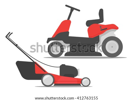lawnmower stock images, royalty-free images & vectors | shutterstock