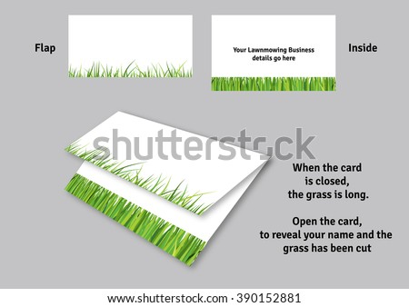 Lawn mowing business card template stock vector royalty free lawn mowing business card template colourmoves