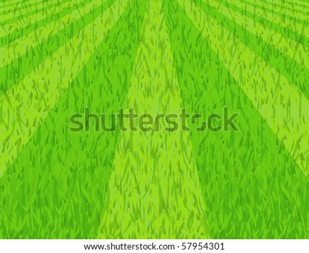 Lawn, vector illustration - stock vector