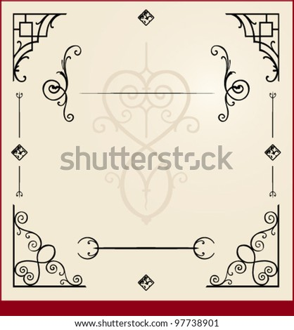 layout design elements - stock vector