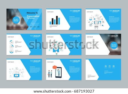 Layout design template business presentation brochure stock vector layout design template for business presentation brochure page and annual report page with cover friedricerecipe Image collections