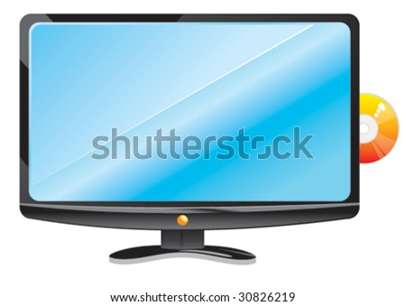 LCD Tv and DVD player 1