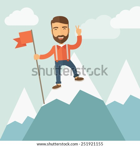 Leader Concept - stock vector
