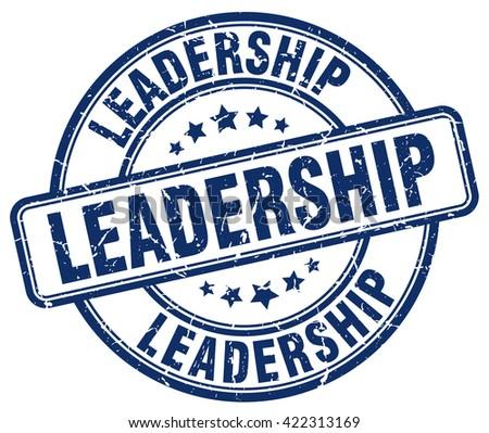 leadership blue grunge round vintage rubber stamp.leadership stamp.leadership round stamp.leadership grunge stamp.leadership.leadership vintage stamp. - stock vector