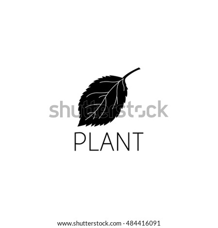 Leaf Logo Graphic Design Concept Editable Stock Vector (Royalty Free ...