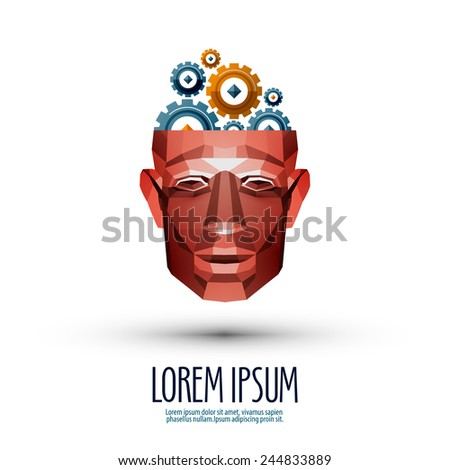 learning vector logo design template. studies or education icon. - stock vector