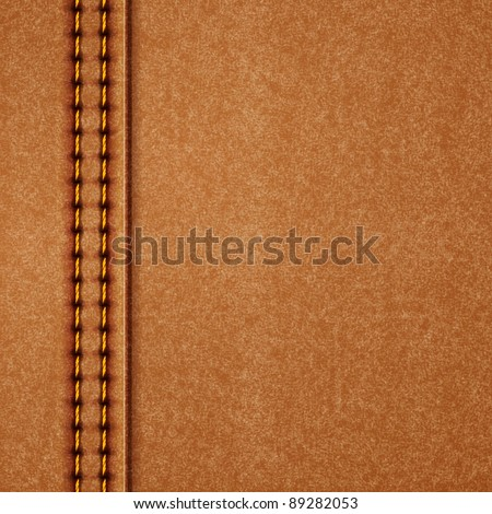 Leather texture. Vector eps10 illustration - stock vector