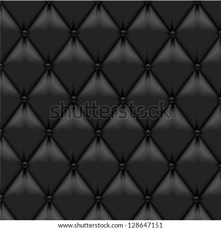 Leather Upholstery Background - stock vector