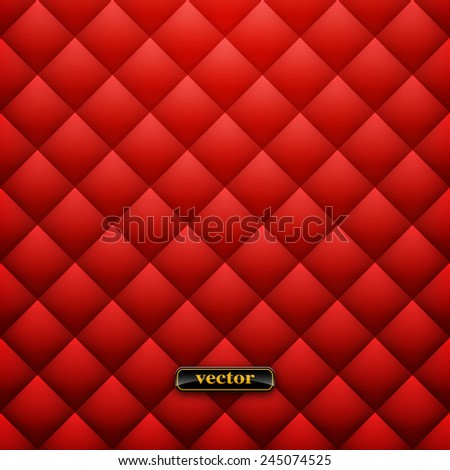 Leather upholstery. Vector background. Vector illustration Eps 10 - stock vector