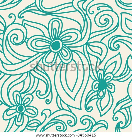 leaves abstract background - stock vector