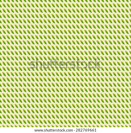 Leaves pattern - Pattern with leaf shapes. Repeatable. - stock vector
