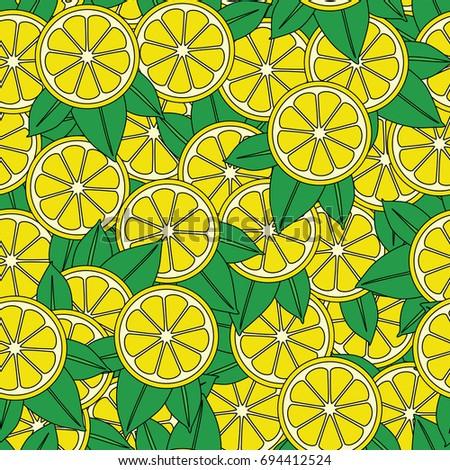 Lemon Slices Wallpaper