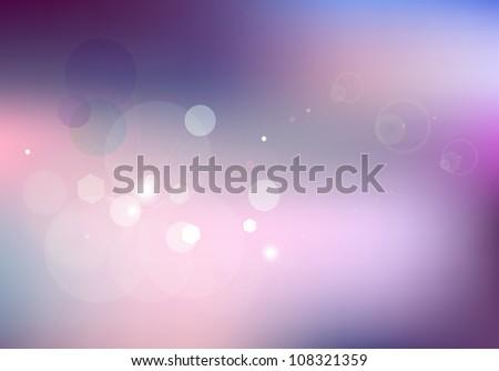 Lens light flare - stock vector
