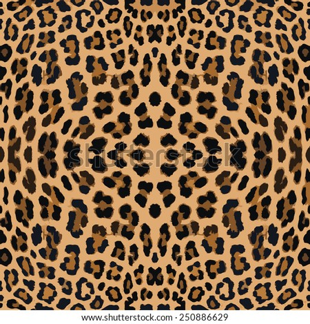 Leopard seamless background