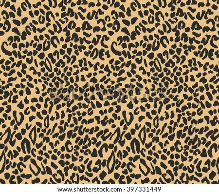 leopard seamless pattern. animal print. Vector
