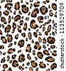 Leopard skin seamless pattern - stock