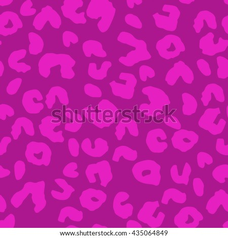 Leopard skin seamless pattern. Animal print. pink leopard texture. Repeating background. Leopard print for your design. - stock vector