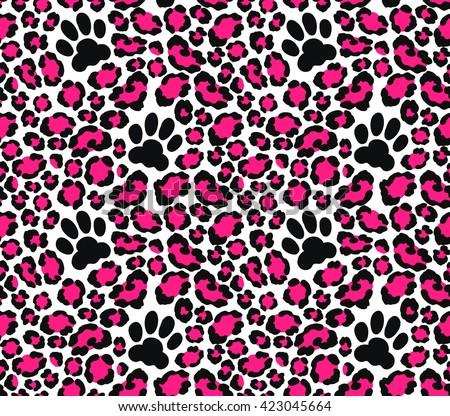 Jaguar print vector