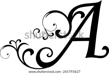 Letter Stock Vector 265793627
