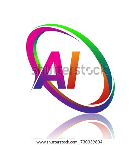 Letter Ai Logotype Design Company Name Stock Vector Hd Royalty Free