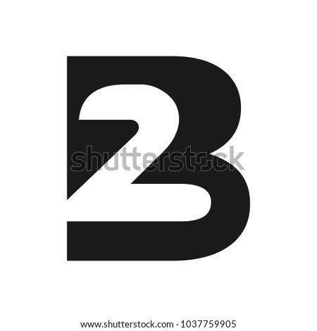 Image result for letter B number 2