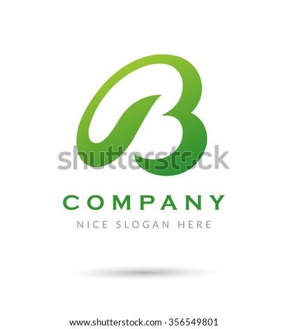 Letter B logo icon design template - stock vector