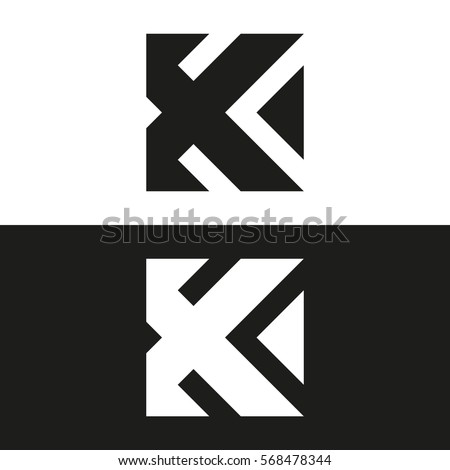 Letter k business logo template vector stock photo photo vector letter k business logo template vector icon minimal logo design spiritdancerdesigns Choice Image