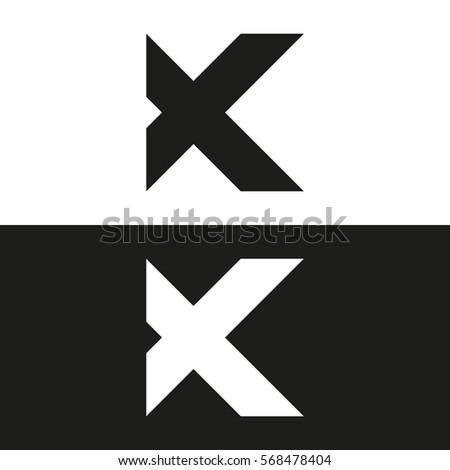 Letter k business logo template vector stock vector 568478404 letter k business logo template vector icon minimal logo design spiritdancerdesigns Images