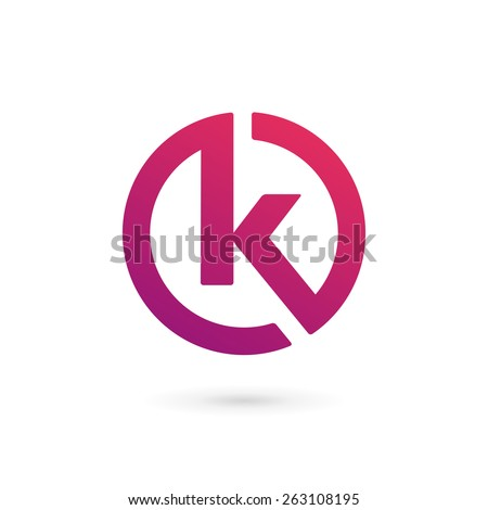 K Logo Images airy logo icon design ready symbol creative vector sign k letter logo ...