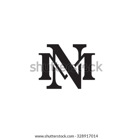 Letter M And N Monogram Logo