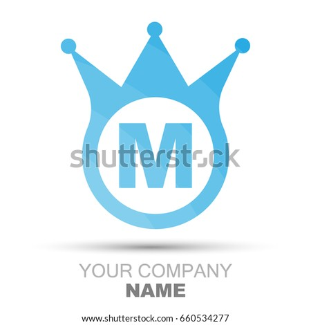 Letter M Logo Company Name Icon Stock Vector 660534277 Shutterstock