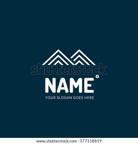 Letter M, logo design vector template. Symbol concept icon. - stock vector