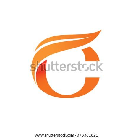 Letter O logo - stock vector