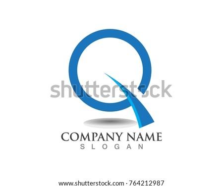 letter q logos template symbols stock vector 764212987 shutterstock