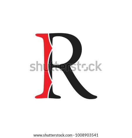 Letter R Design Logo Vector