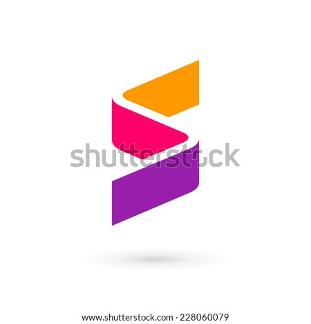 Letter S logo icon design template elements  - stock vector
