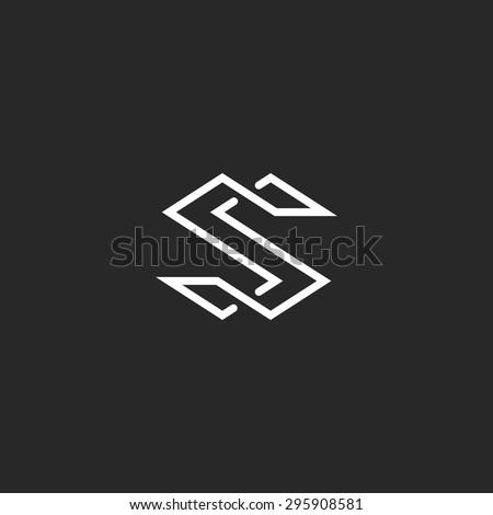 S Symbol Logo Letter S Logo M...