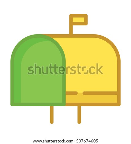 Letterbox Vector Icon