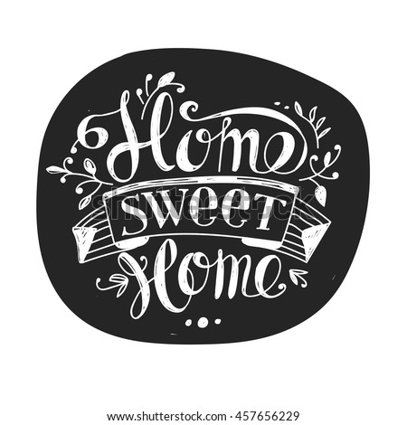 Home Sweet Home Sign Stock Images Royalty Free Images