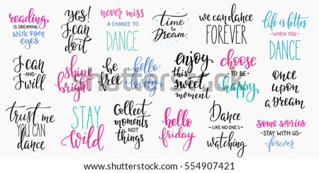 Dance Quote Stock Images Royalty Free Images Amp Vectors Shutterstock